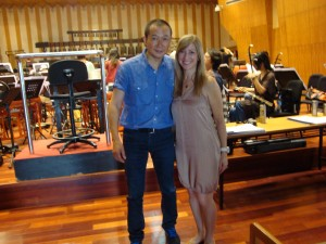Picture of Tan Dun and Elizabeth